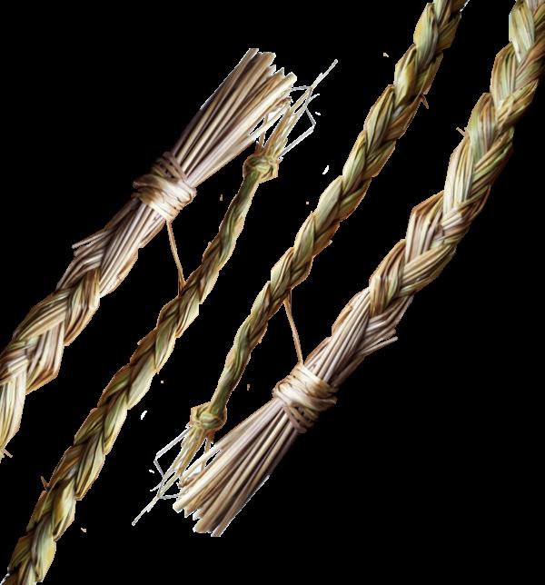 sweetgrass smudge